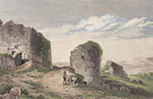 Ancient Italy - Defensive wall at Norba - Lazio