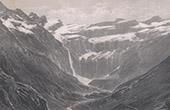 View of the Pyrenees - Cirque de Gavarnie - Waterfall - Midi-Pyr�n�es (Hautes-Pyr�n�es - France)