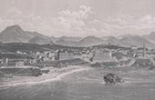Vue des Pyrénées - Biarritz (Pyrénées-Atlantiques - France)