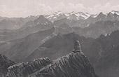 Vue d'ensemble des Pyr�n�es - Montagnes des Hautes-Pyr�n�es (France)