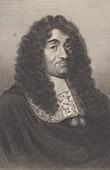 Portrait of Pierre Paul Riquet - Baron de Bonrepos - Ing�nieur - Canal du Midi