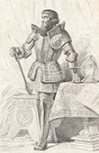 Portrait of Boucicaut - Jean II Le Meingre (1364-1421)