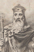 Portrait of Charlemagne (742-814)