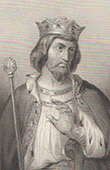 Portrait of Robert II of France (972-1031)