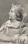 Portrait of Louis VI of France (1081-1137)