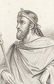 Portrait of Charibert I (c. 521-567)
