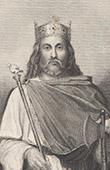 Portrait of Chilperic I (c. 539-561)