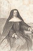 Porträt von Louise Adélaïde von Orléans (1698-1743)