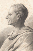 Portrait of Montesquieu - Charles-Louis de Secondat (1689-1755)