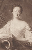 Portrait of Louise Henriette of Bourbon, Duchess of Orl�ans (1726-1759)