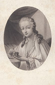 Portrait of Madame du Barry - Jeanne B�cu (1743-1793)
