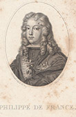 Portrait of Philip V of Spain - Duke of Anjou (1683-1746)