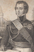 Portrait of Bourmont, Marshal of France (1773-1846)