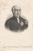 Portrait de Léopold Frédéric d'Anhalt Dessau (1740-1817)