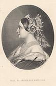 Portrait de Mathilde Bonaparte - Princesse Mathilde (1820-1904)