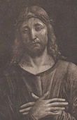 Pensive Christ - Passion of Jesus Christ (Vicenzo Foppa)