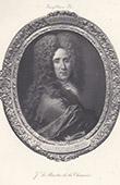 Portr�t von J. Le Maistre de la Chauss�e, Seigneur de Villejean