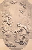 Cathedral Notre-Dame de Paris (France) - Carved Wood - Annunciation - Archangel Gabriel