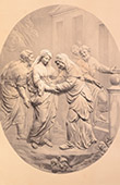 Cathedral Notre-Dame de Paris (France) - Carved Wood - Visitation