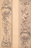 Cathedral Notre-Dame de Paris (France) - Carved Wood - Pilaster