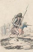 Infantaria - Zuavos - Traje Militar - Ex�rcito Franc�s - Arg�lia