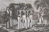 Napol�on - Mort de Napol�on Bonaparte - Ile de Sainte-H�l�ne - Convoi fun�bre (9 mai 1821)