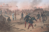 Crimean War - Siege of Sevastopol - Death of Michel Bizot (1855)