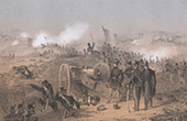 Crimean War - Battle of Inkerman - Ukraine - Death of Fr�d�ric Henri Le Normand de Lourmel (1854)