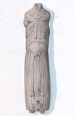 Wooden Statue - Binson Church - Champagne-Ardenne (Marne - France)