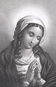Die Heilige Jungfrau in Bitte (Giovanni Battista Salvi, il Sassoferrato)