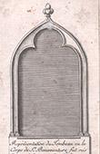 Grave of Saint Bonaventure in 1434 (Italy)
