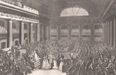 French Revolution - Patriotic offering - National Assembly - Artist (1789)
