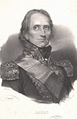 Portrait of Marshal Soult - Marshal of the Empire (1769-1851)