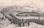 (Algeria) - Conquest of Algeria - Military Inspection after the Storming of Constantine (1837)