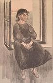 Portr�t einer gesetzten Frau (Fernand Piet)