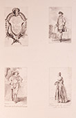French painting - Comic characters - Costumes (Watteau)