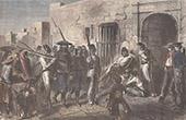 Verhaftung von Vigneaux in Sonora (Mexiko)