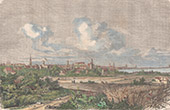 View of Copenhagen (Denmark)