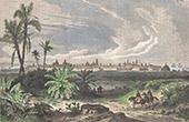 Ansicht von Veracruz seit der Strasse von Orizaba (Mexiko)