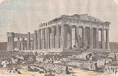Parthenon - Akropolis in Athen (Griechenland)