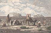Caravan of Greek Pilgrims on the Road to Jerusalem