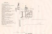 Plan des Bains Romains - Lillebonne (Seine-Maritime - France)