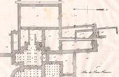 Deuxi�me Plan des Bains Romains - Lillebonne (Seine-Maritime - France)