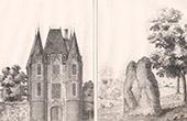 Carrouges - Pierre de la Tremblaie - Menhir - Cerceuil - Lower Normandy (Orne - France)