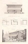 Lavoir au Ch�teau de Croisy - Eure - Architecte M. Leroux (France)