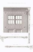 Prisi�n en Paris - Portada de la cerradura - Arquitecto E. Vaudremer (Francia)