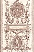 Faksimile einer Zeichnung - XVI. Jahrhundert (Bernardino Poccetti)