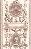 Facsimile of a drawing - XVIth Century (Bernardino Poccetti)