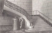 Court of Cassation - Paris - Stairs - Architect M. Duc (France)