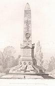 Guerre franco-allemande 1870 - Monument aux Morts - Saint-Germain-en-Laye - Architecte Ch. Fauconnier (France)